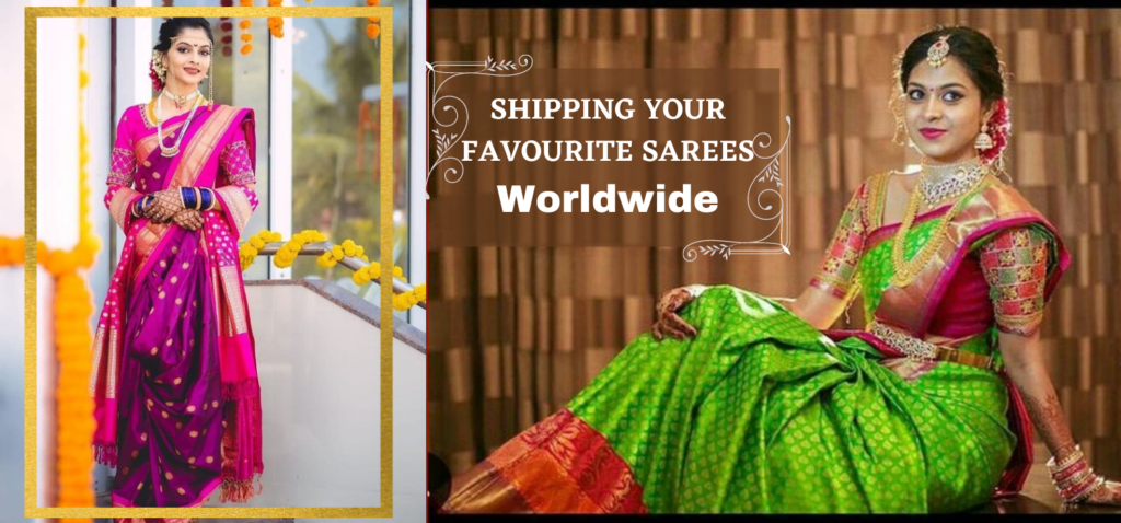SHIPPING YOUR FAVOURITE SAREES